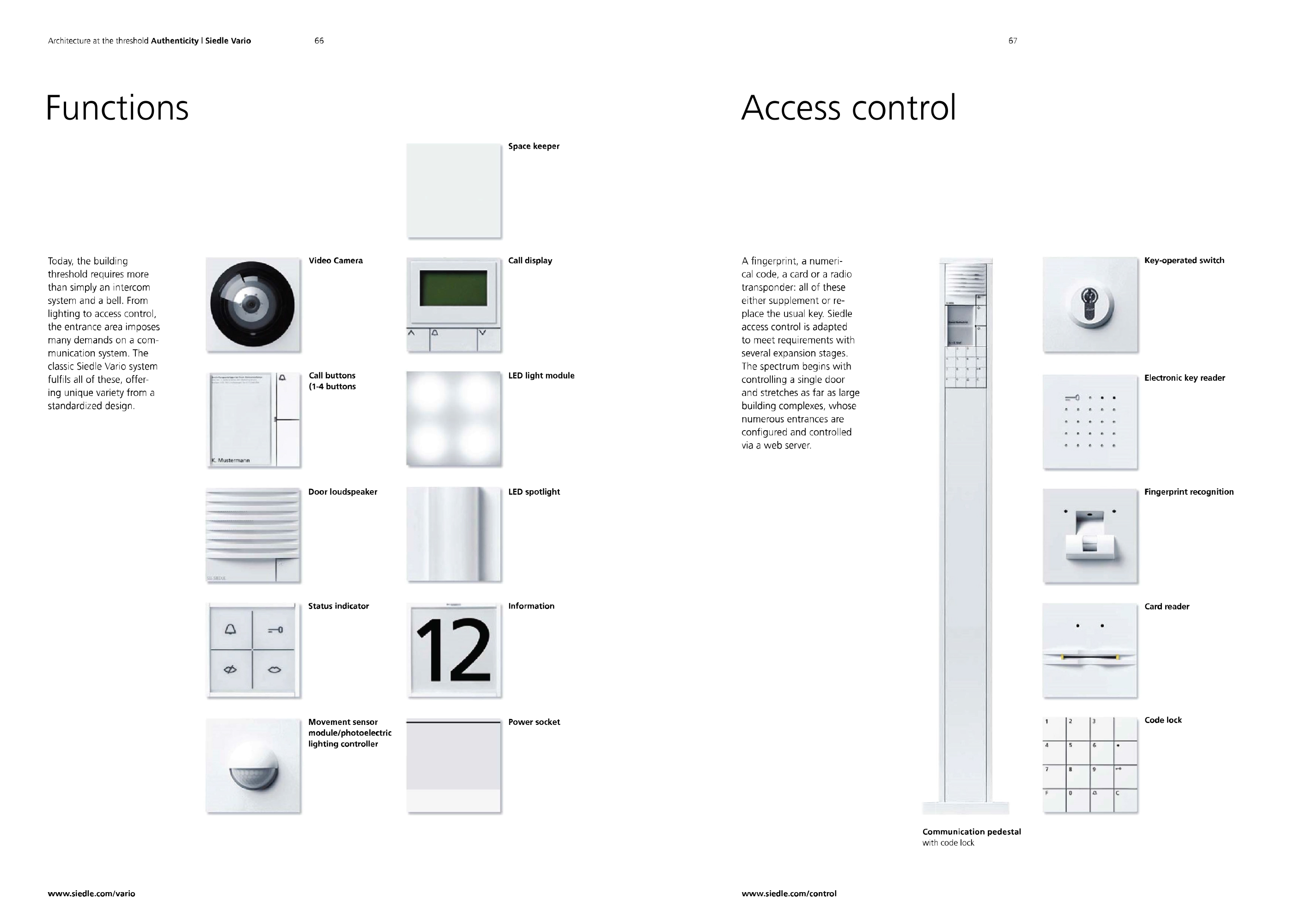 SIEDLE ACCESS PDF DOWNLOAD